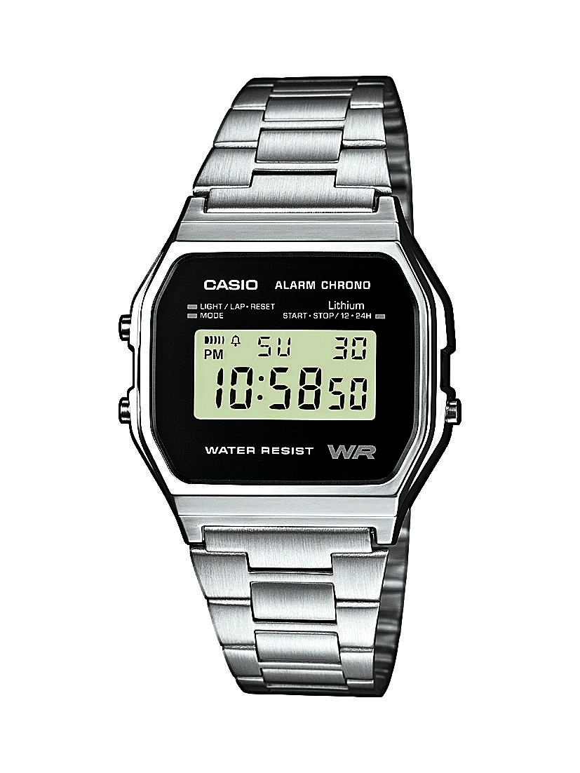 Vintage Montre Marseille Multifonctions 1ef Casio Unisexe A158wea X0O8nwPk